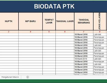 Download Aplikasi Format Penilaian PTK Versi Terbaru