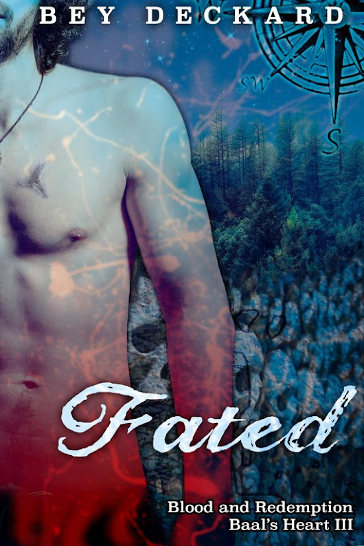 Fated: Blood and Redemption by Bey Deckard #TopReads2015 Interview