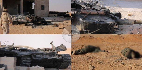 танк Т-90 армии Башара Асада