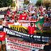 JACOBINA / Protesto contra reforma da Previdência toma ruas e avenidas de Jacobina
