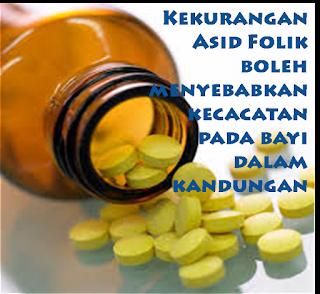 kesan kekurangan asid folik, kepentingan asid folik, folic acid
