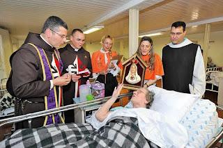 El Oratorio e Fátima visita a los enfermos