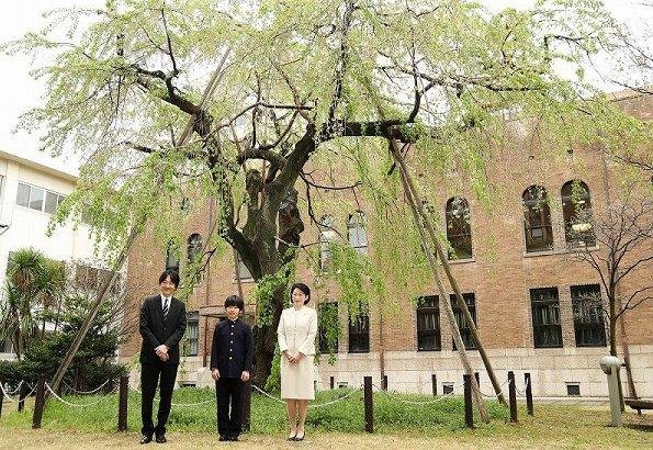 Prince Akishino and Princess Kiko. Emperor Akihito. Crown Princess Masako