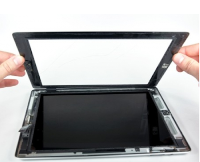 Thay mặt kính ipad 4 tại hà nội uy tín