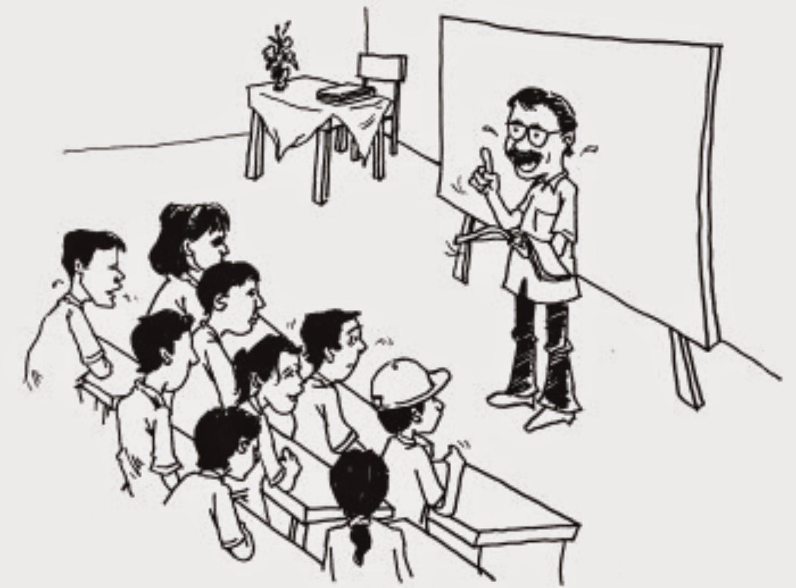 Kumpulan Animasi Bergerak Guru Muslimah Design Kartun