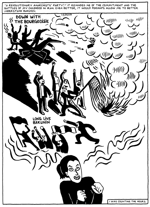 Read Chapter 7 - Hide and Seek, page 55, from Marjane Satrapi's Persepolis 2 - The Story of a Return