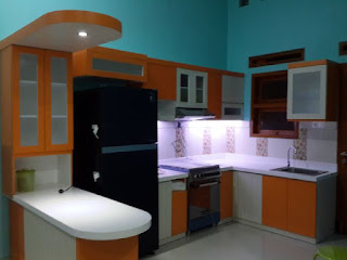 harga kitchen set minimalis murah di malang