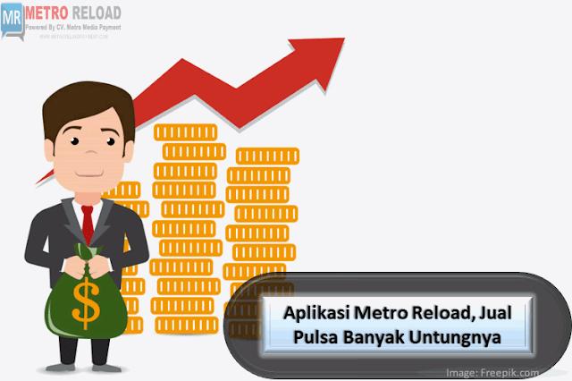 Tips Sukses Menjadi Agen Metro Reload Pulsa