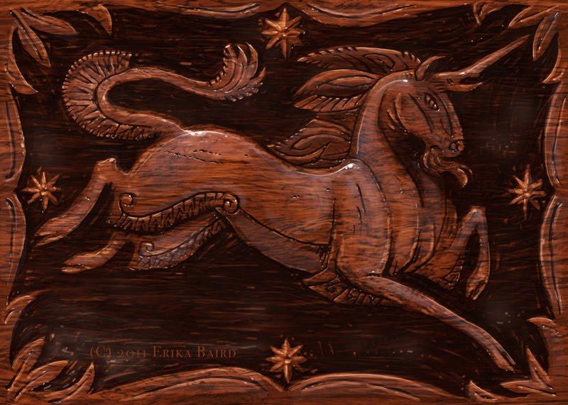 Art Of Erika Baird Woodcarving