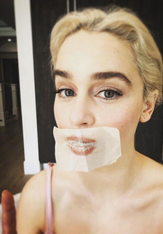 Emilia Clarke – Social Media Pictures