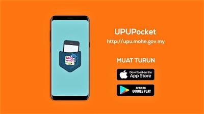 UPUPocket Aplikasi Permohonan dan Semakan UPU