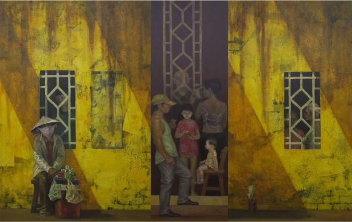 Вьетнамский художник. Tran Quoc