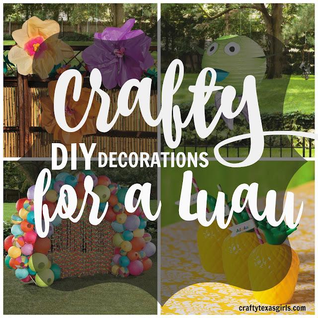 Diy luau decorations 28 images hawaiian tiki luau diy for How to make luau decorations at home