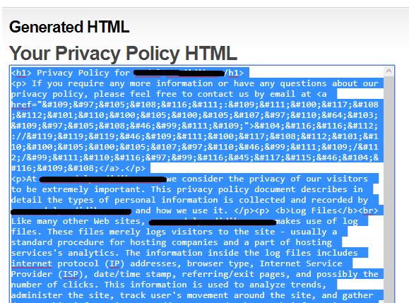 bagi agan yang belum tau tentang privacy policy Tutorial Membuat Privacy Policy Online Lengkap dengan Gambar