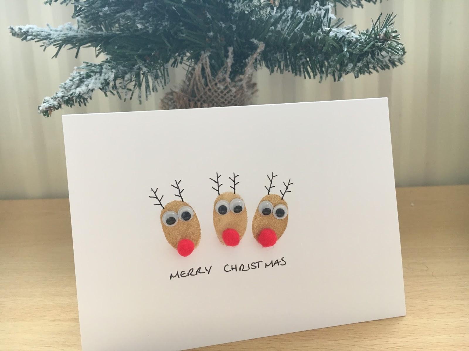 Kizzy Hearts: Easy Handmade Christmas Cards