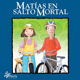 Imagen del Libro de cuentos Matías en salto mortal