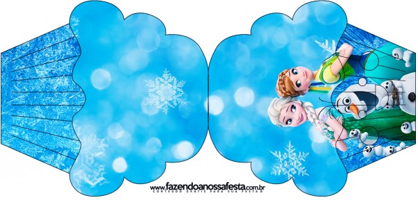 Frozen Fiebre Congelante: Invitaciones para Imprimir Gratis.