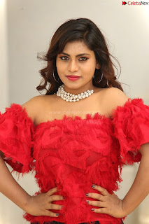 Priya Augustin in Red Top cute beauty hq .xyz Exclusive Pics 001