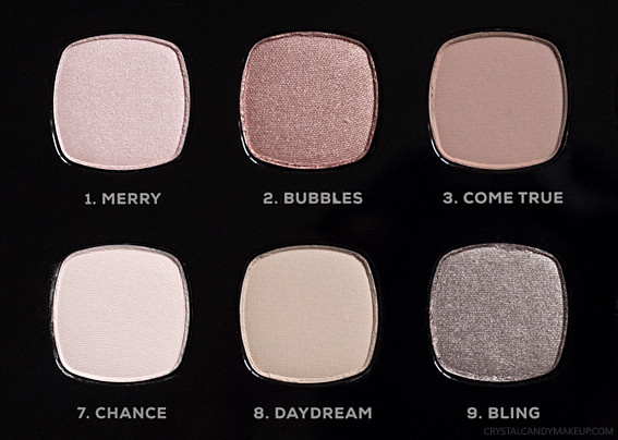 BareMinerals The Wish List Eyeshadow Palette Review