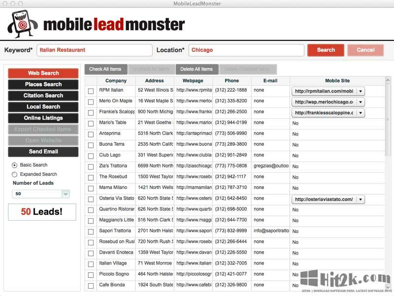 Mobile Lead Monster Find Local Businesses In Local Marketing