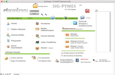 Sig Pyme Almacen Integrado en el ERP Sig Pyme