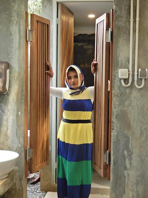 colourfull dress