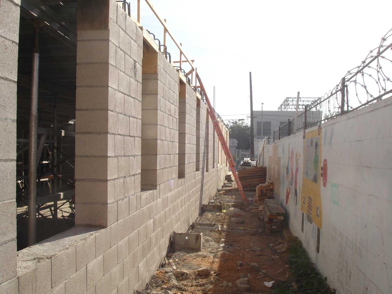 Rear Yard   Garage Wall Openings