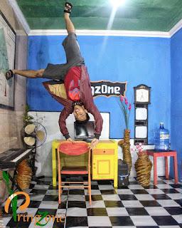 Molak-Malik Room, Ruangan Miring Terbaru di Banyumas