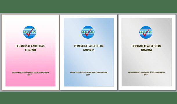 Perangkat Akreditasi Tahun 2017 SD/MI SMP/MTs SMA/MA