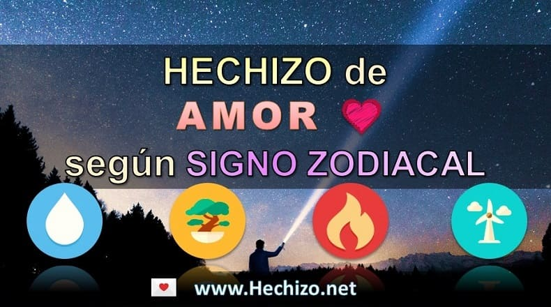 Hechizo de Amor según el Signo Zodiacal