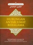 [buku] Hubungan antar-umat Beragama