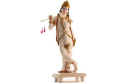 Matchless Krishna Marble Idol 17inch For Rs 1875 at Flipkart