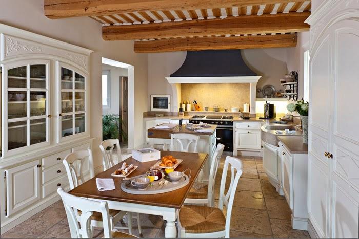 "879 provencal style kitchens jc pez homemade loriol du comtat provence Основные особенности стиля ""прованс"" | Роскошь и уют Фото"