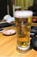 Draft Beer at Matsusaka Yakiniku M