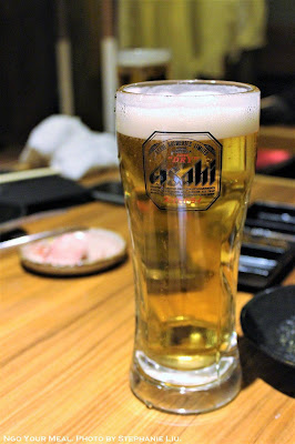 Draft Beer at Matsusaka Yakiniku M