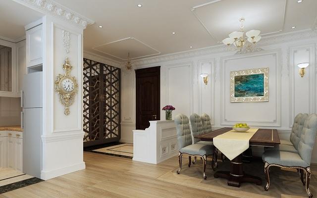Phong cách thiết kế căn hộ 4 phòng ngủ cao cấp rất được ưa chuộng hiện nay - H2
