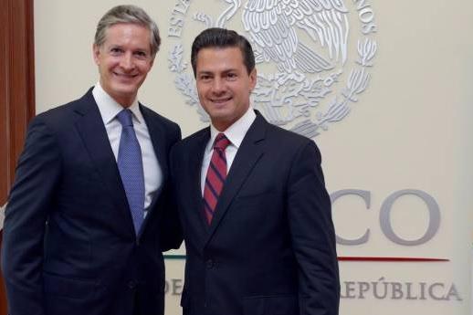 Peña Nieto y del Mazo