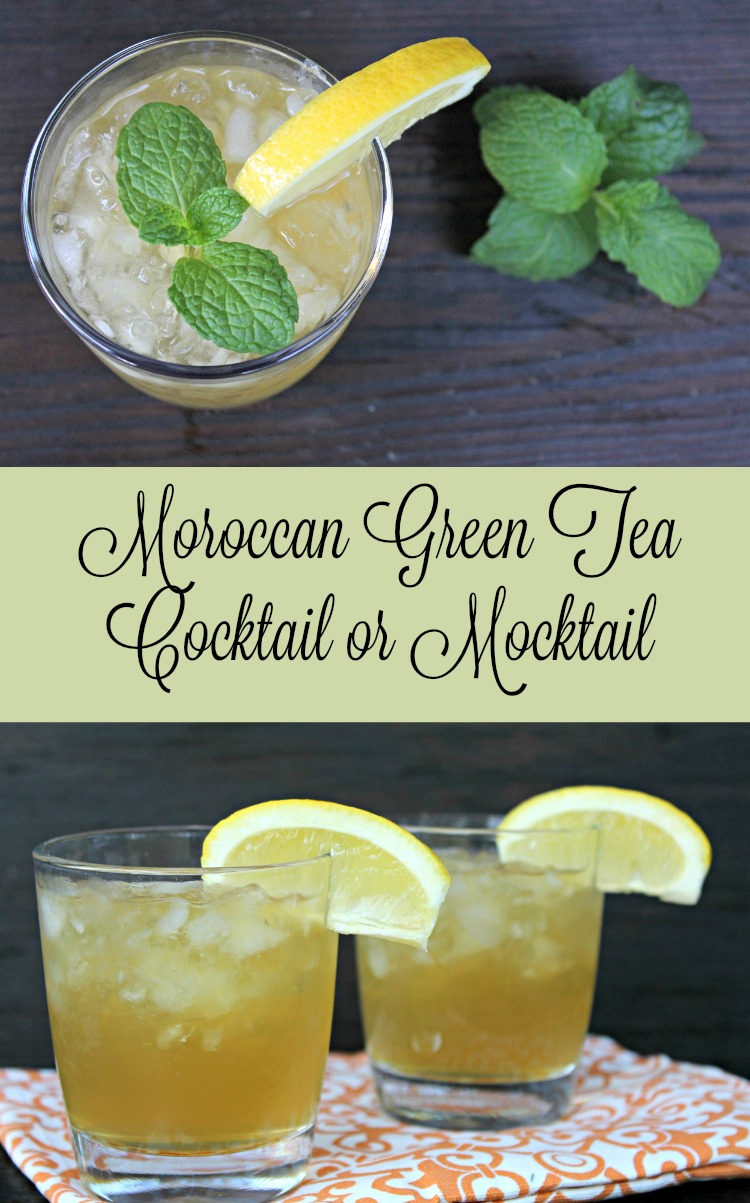 moroccan green tea cocktail or mocktail everything pretty. Black Bedroom Furniture Sets. Home Design Ideas
