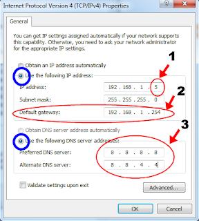 Cara Mengatasi Situs Diblokir Internet Positif Pada Komputer - www.aciltips.com
