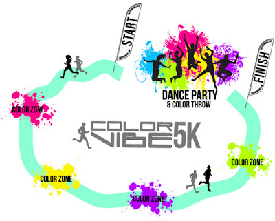 Color Vibe 5K Baltimore Race Course