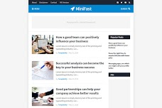 How To Setup MiniFast Blogger Template