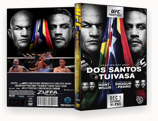 CAPA DVD – UFC Fight Night 142 – ISO