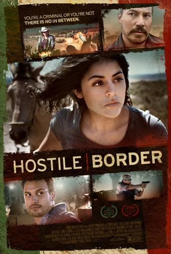 Download Hostile Border 2015 English HDRip 700mb ESubs