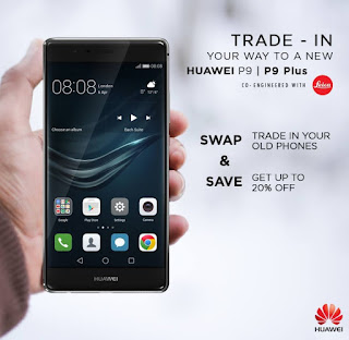 Huawei Announces Second Leg of Trade-in Promo for P9 and P9 Plus