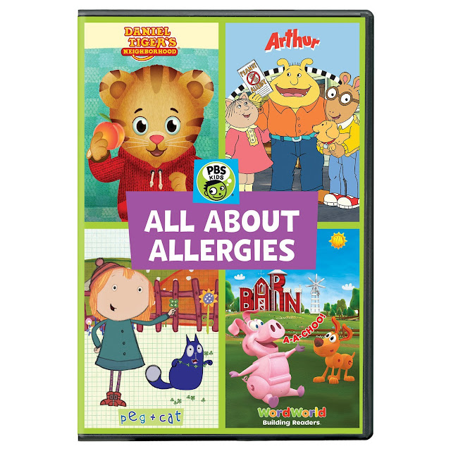 pbs all about allergies dvd