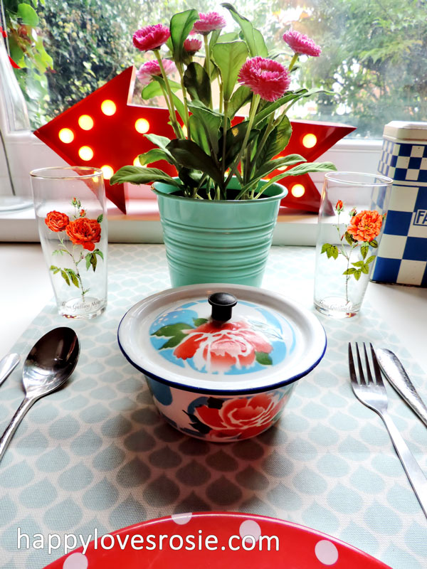 duckydora sienna tableware
