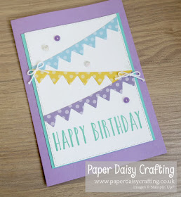 Playful Pennants Stampin Up