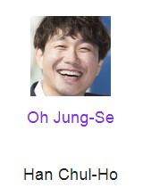 Oh Jung-Se pemeran Han Chul-Ho