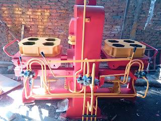 mesin paving hydrolis 2 sisi, mesin paving hydrolis