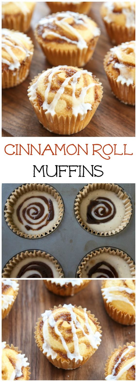 ★★★★☆ 4209 ratings   | CINNAMON ROLL MUFFINS  #CINNAMON #ROLL #MUFFINS #SWEET #CUPCAKE